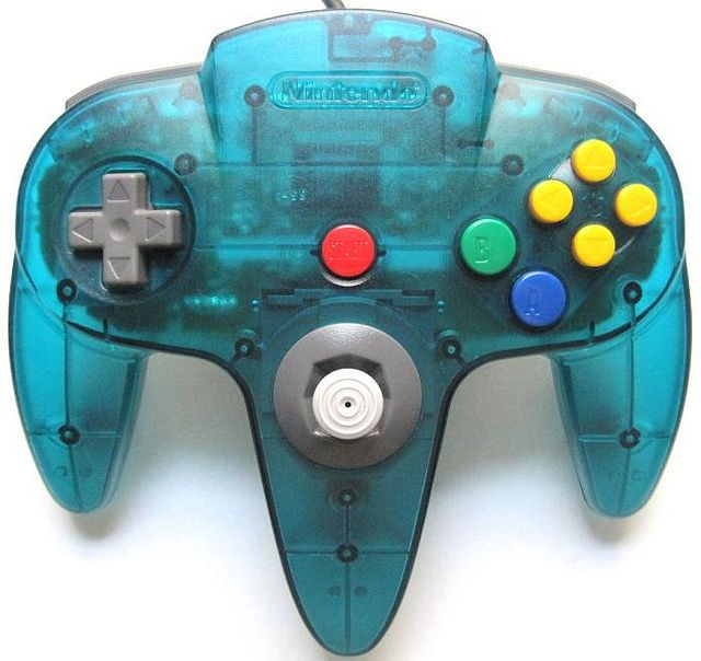 Ice Blue N64 Controller | Nintendo 64 Controllers | Pinterest ...