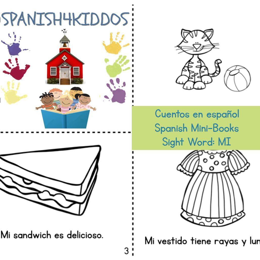 Spanish Mini Books