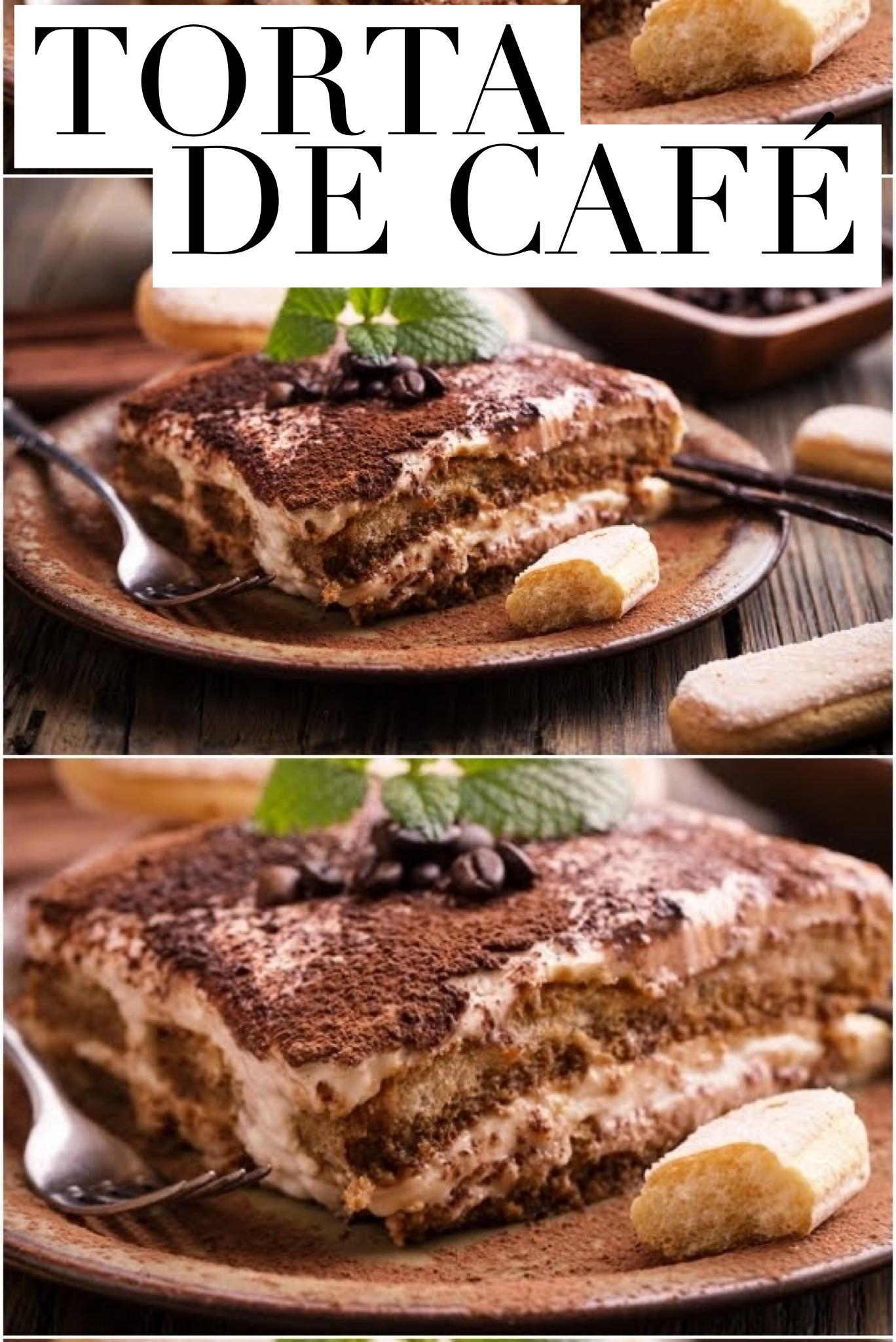 A torta de café é bem fácil de fazer e não exige muitos conhecimentos culinários. A seguir, confira a receita completa de torta de café clicando na imagem. #torta #cafe #coffee #receitas #receitadodia