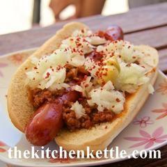 Chili Dog – The Kitchen Kettle