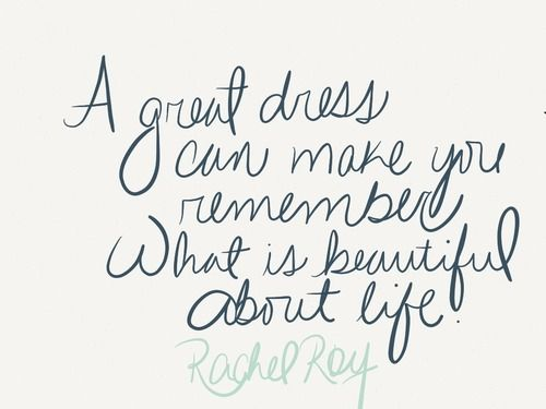 love this quote from Rachel Roy... so true!