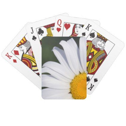 Offset daisy playing cards playing cards offset daisy playing cards cyo customize design idea do it yourself diy solutioingenieria Gallery