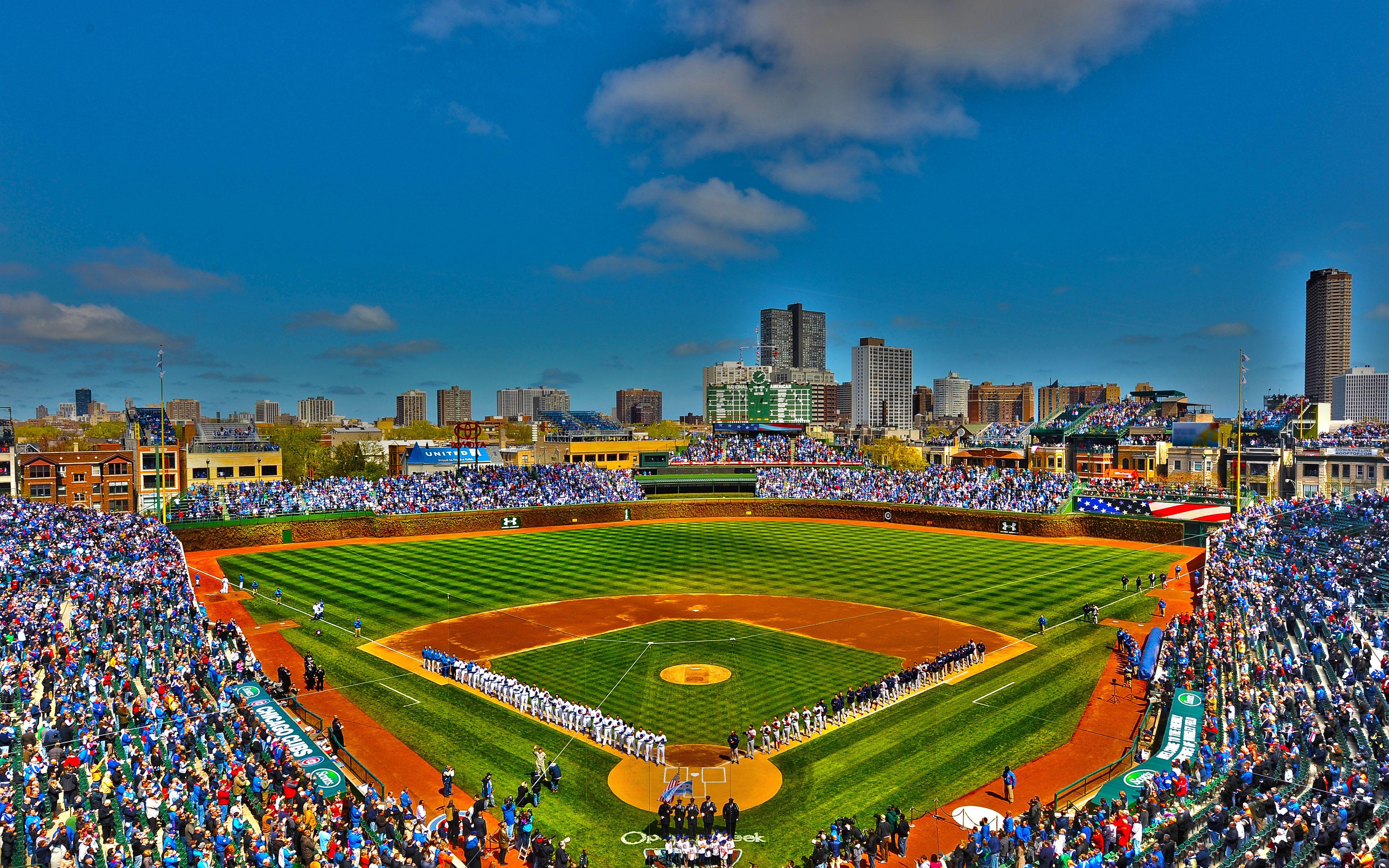 ChicagoCubsballparkWrigleyFieldChicagoIllinois