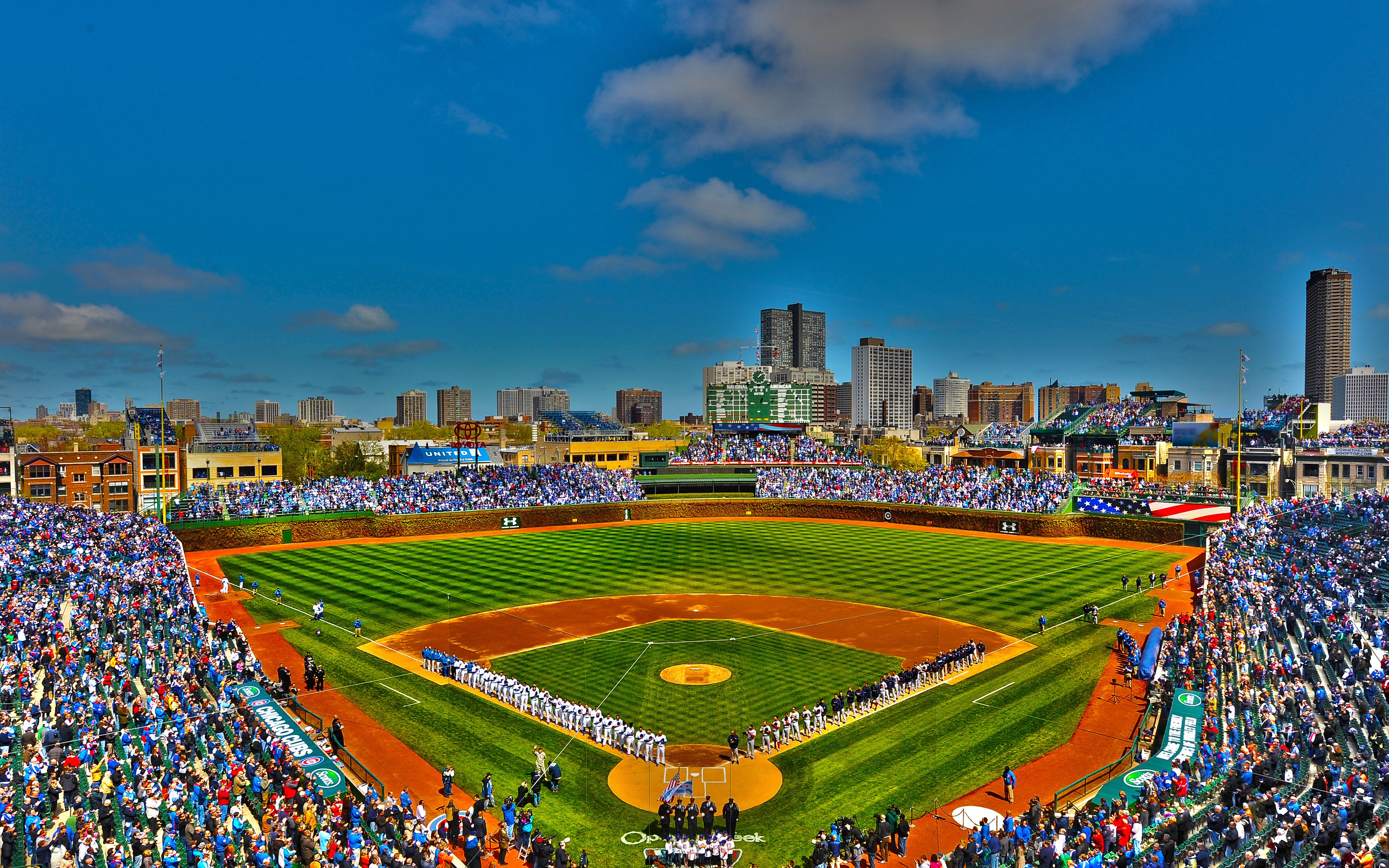 Chicago Cubs Ballpark Wrigley Field Chicago Illinois Wallpaper Wrigley Field Chicago Wrigley Field Chicago Illinois