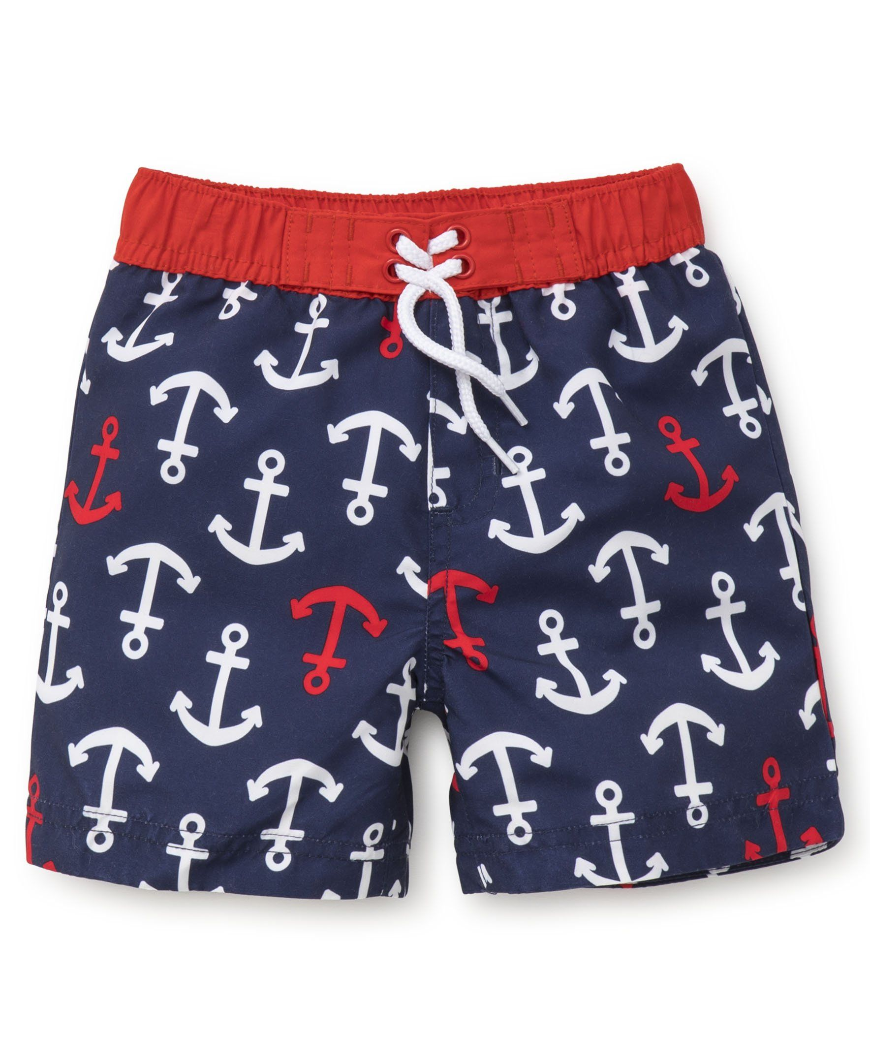 5148b30274 Little Me Baby Boys Swim Trunks Anchor New 18 Months >>> Click on the image  for additional details. (This is an affiliate link) #HashTag1