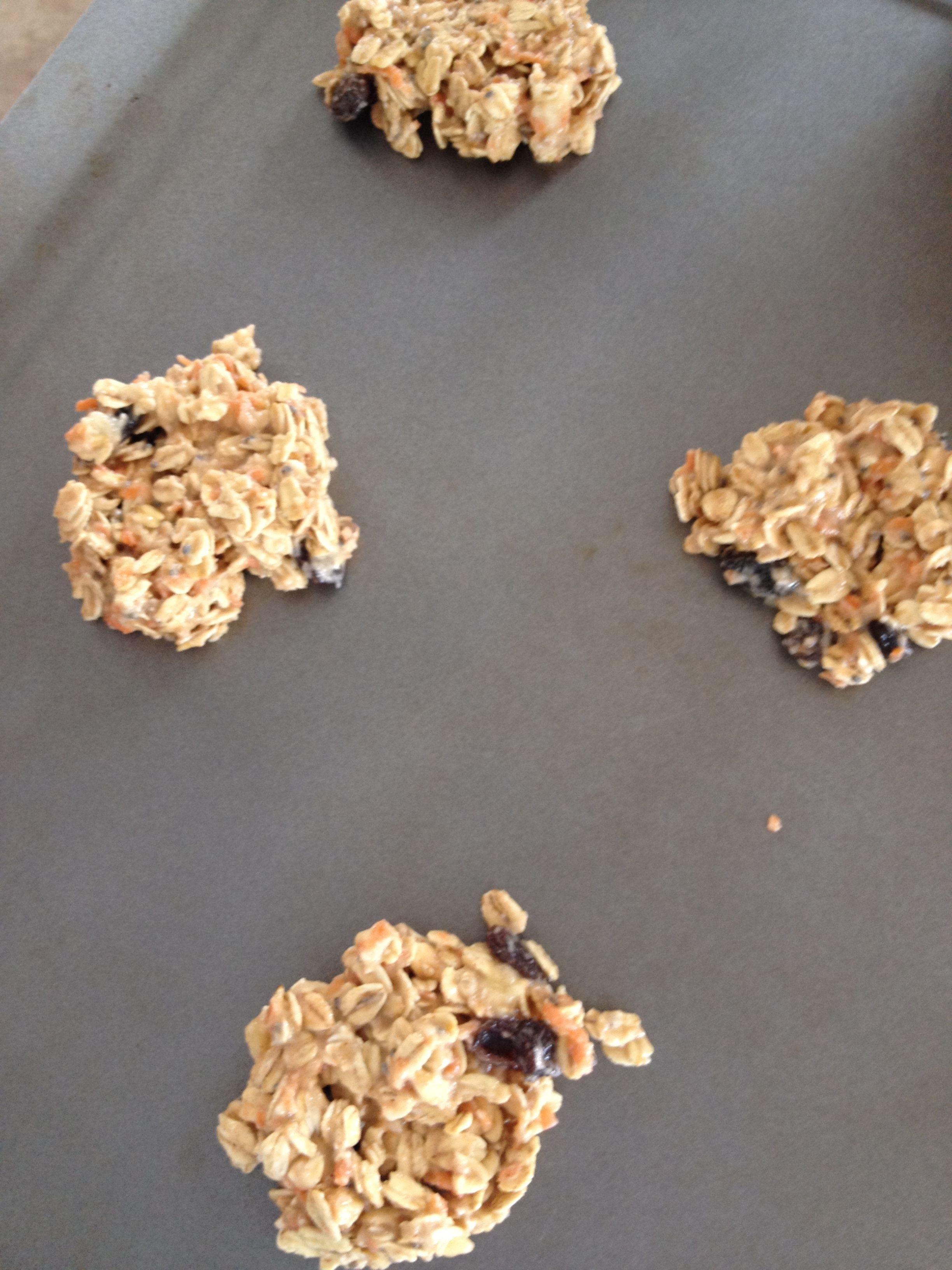 Carrot cake cookies almond butter or better than pb or