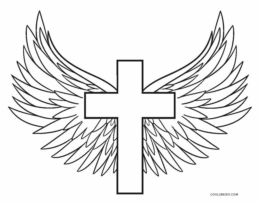 Cross Coloring Pages Cross Coloring Page Cross Drawing