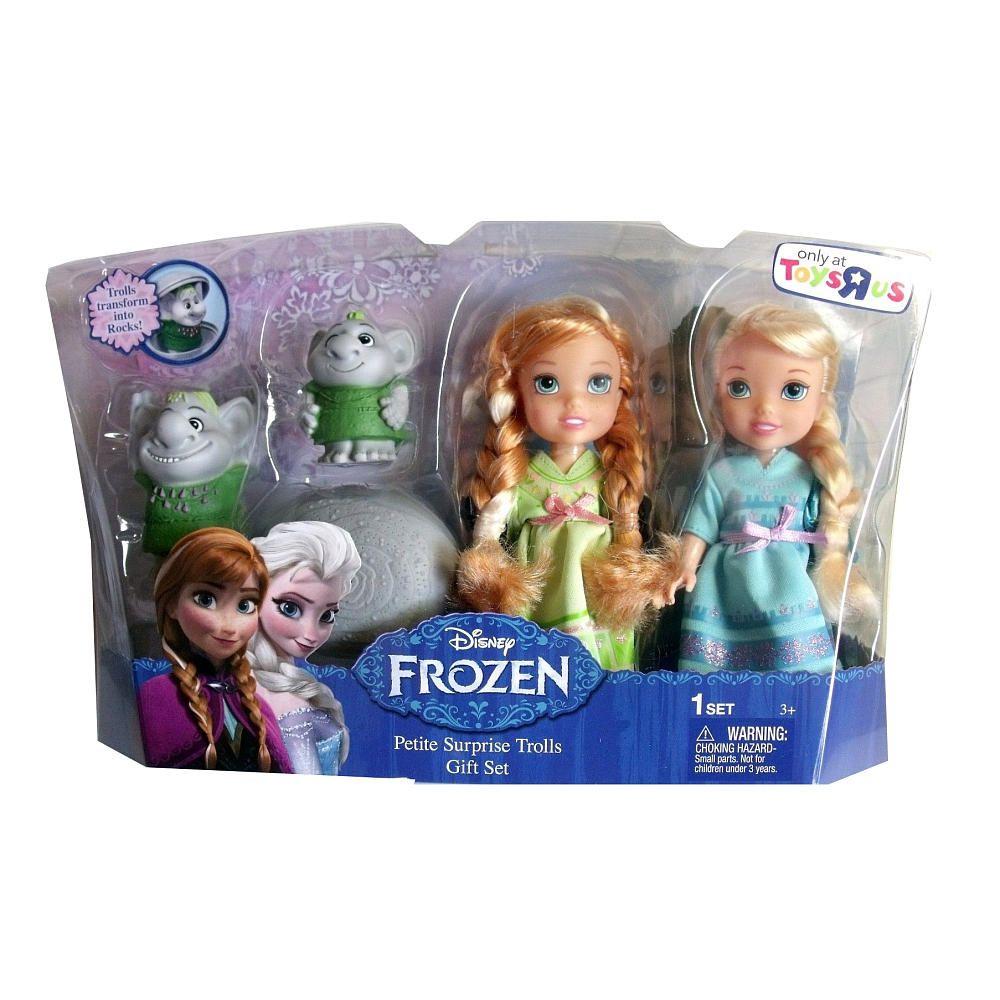 Frozen Toys R Us : Frozen petite toddler princess surprise trolls tolly