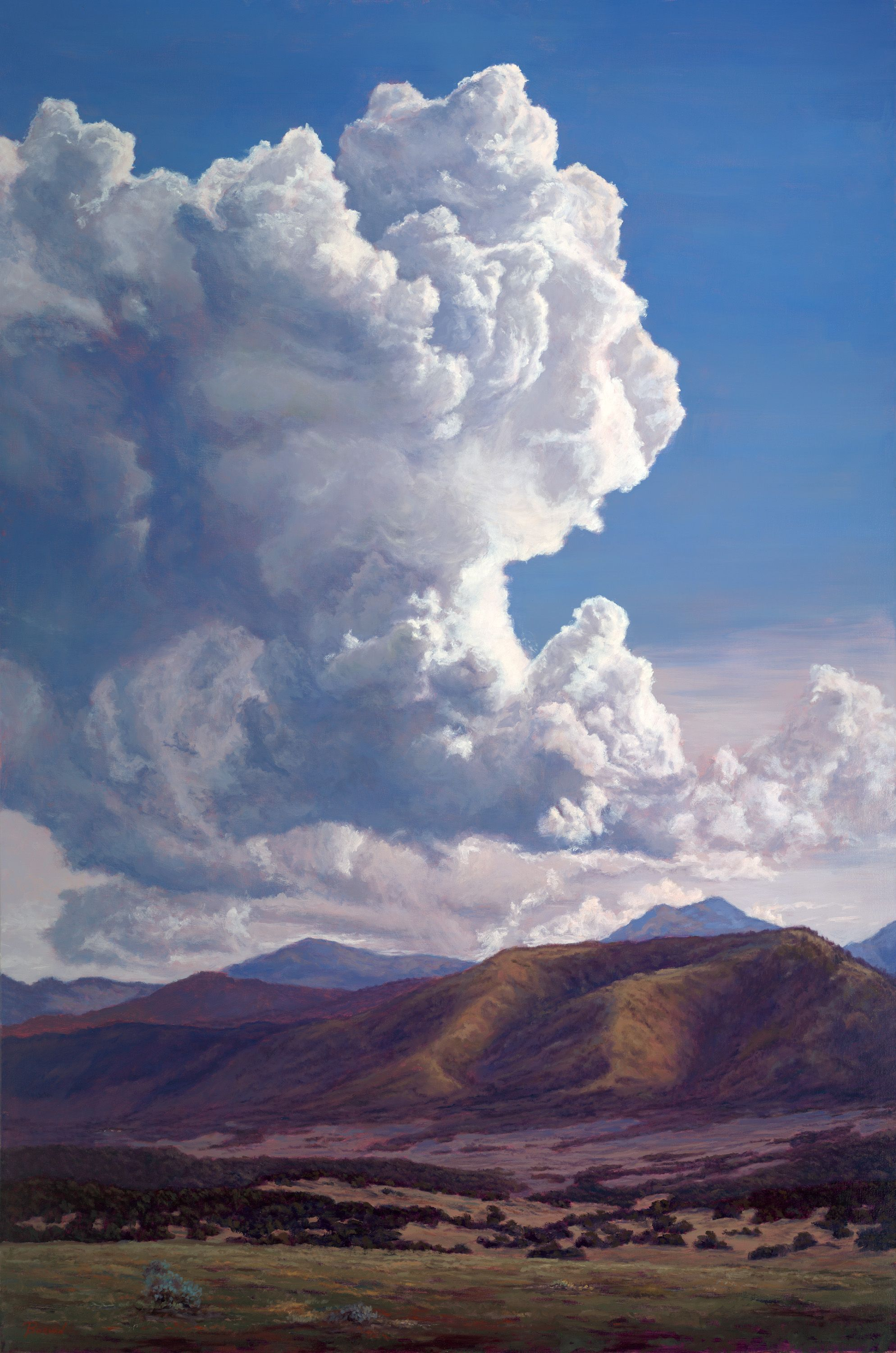 In Awesome Wonder Phil Bob Borman Sky Painting Cloud Painting Clouds