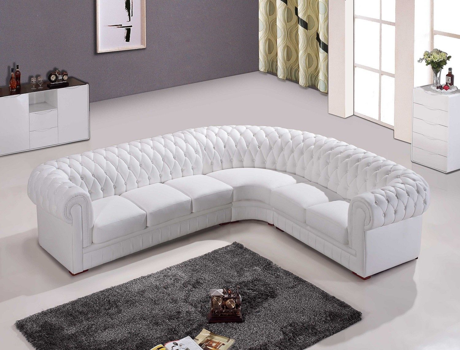 white leather chesterfield corner sofa black sale for the home