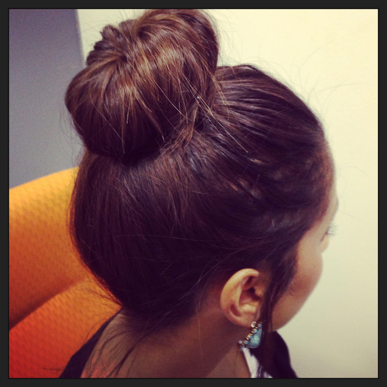 My pretty bun :)