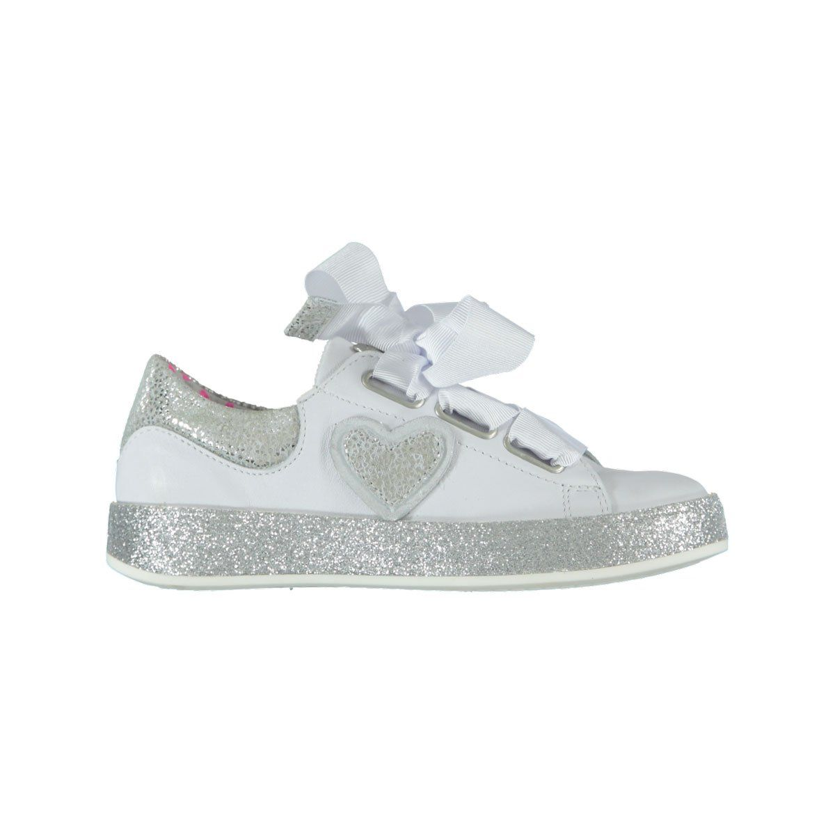 ed8930c3010 Mim-Pi summer 2018 footwear collection! #summer #kids #beautiful #cute  #love #sweet #kidshoes #footwear #sneakers #white #wit #sparkly #silver # heart