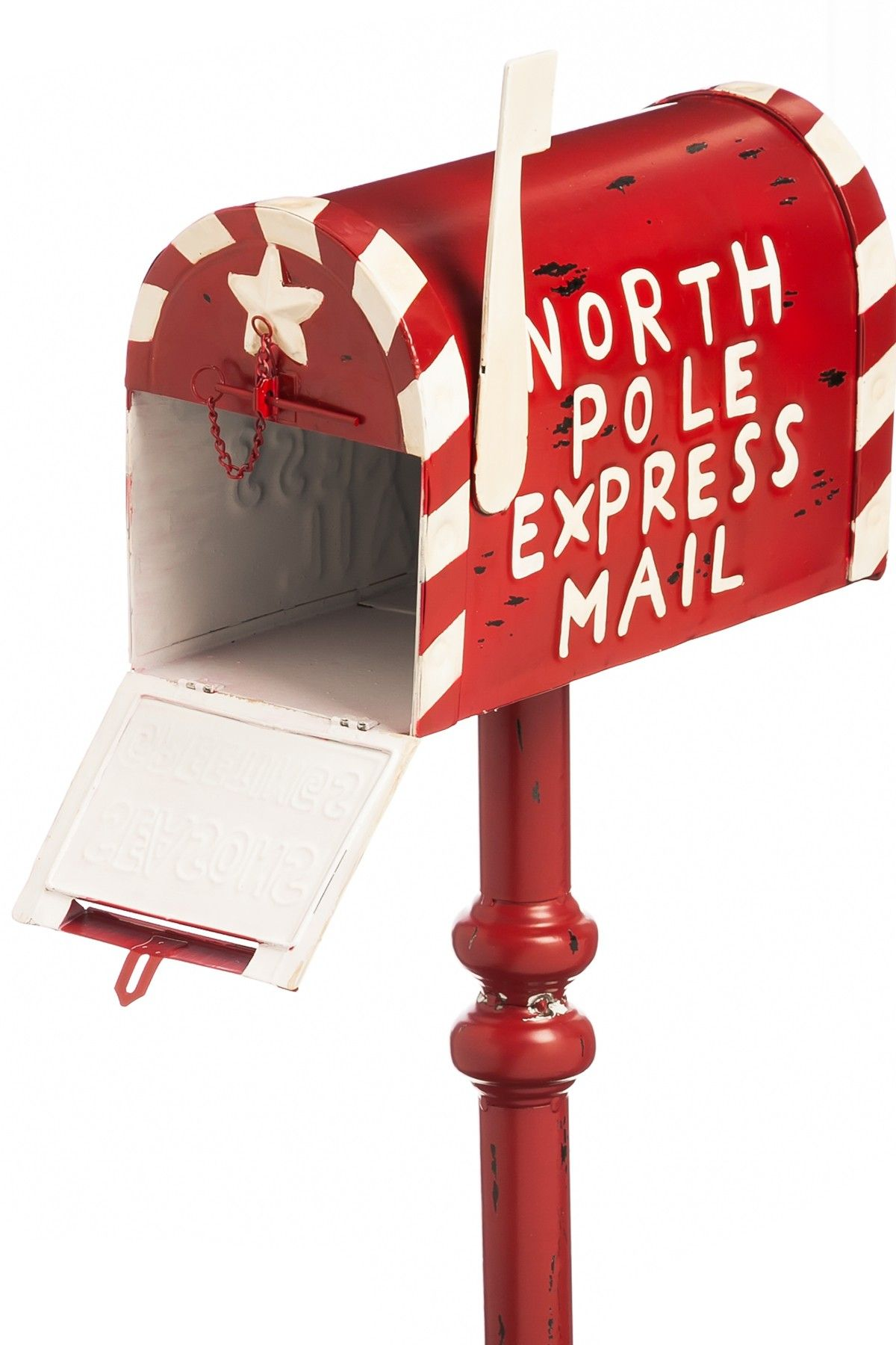Letters To Santa Garden Mail Box On Hautelook Mailbox Decor Mailbox Decor