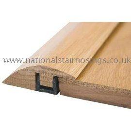 Good Solid Wood Hardwood Ramp Door Bar Threshold Strip For Different Level .