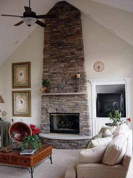 Rounded Hearth Fireplace | Fireplaces | Pinterest | Hearths