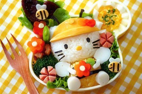 A panda's love for Hello Kitty