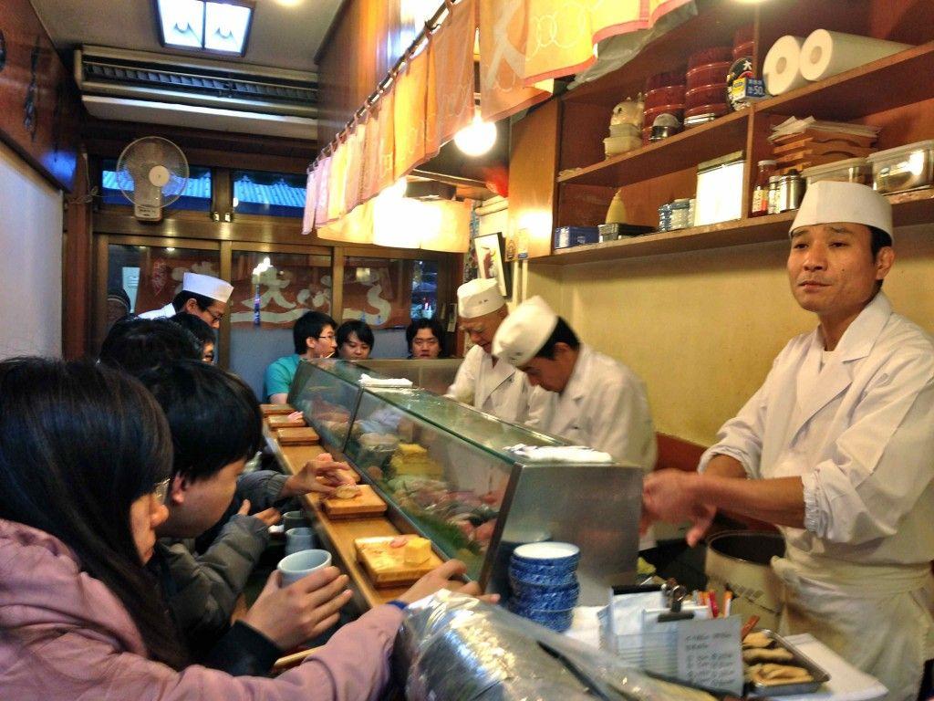 Daiwa Sushi The Best Restaurant Near Tsukiji Fish Market In Tokyo