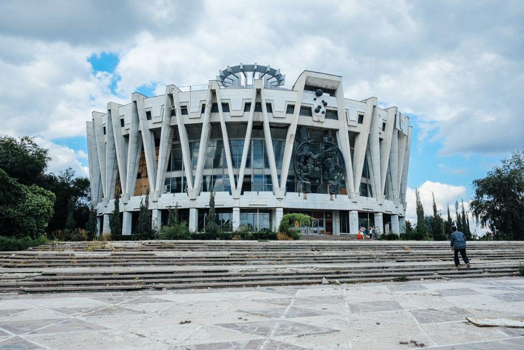 abandoned circus chisinau moldova