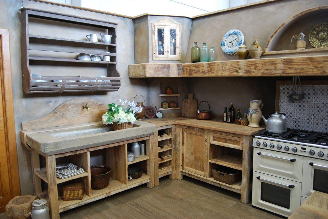 La Cucina Country è una cucina rustica, essenziale e ...
