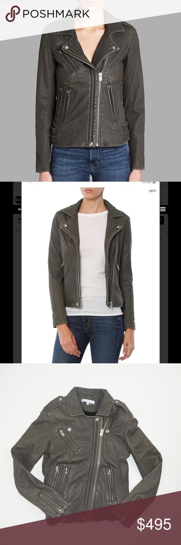 Iro Han Smoke Grey Leather Jacket Grey Leather Jacket Leather Jacket Jackets [ 1740 x 580 Pixel ]