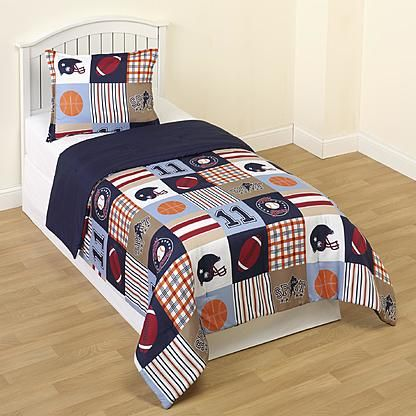 Crb Sports Twin Comforter Set Sports Bedding Boys Sports Bedding Football Bedding
