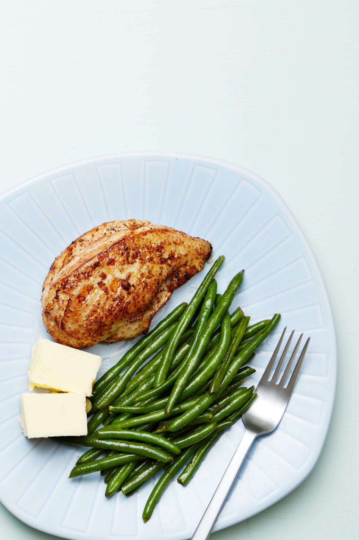 Keto chicken and green beans plate Recipe in 2020