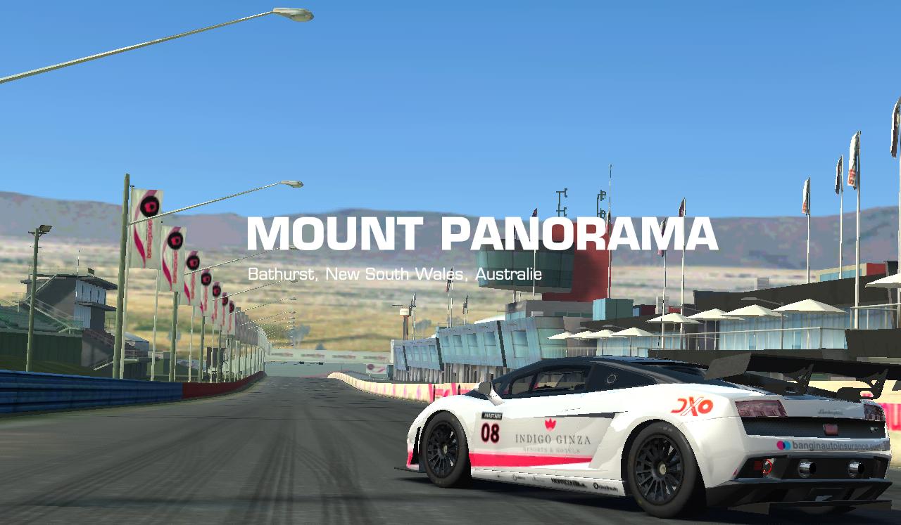 Lamborghini Gallardo LP560 GT3 Mount Panorama Www.planete Jeu.fr/Real