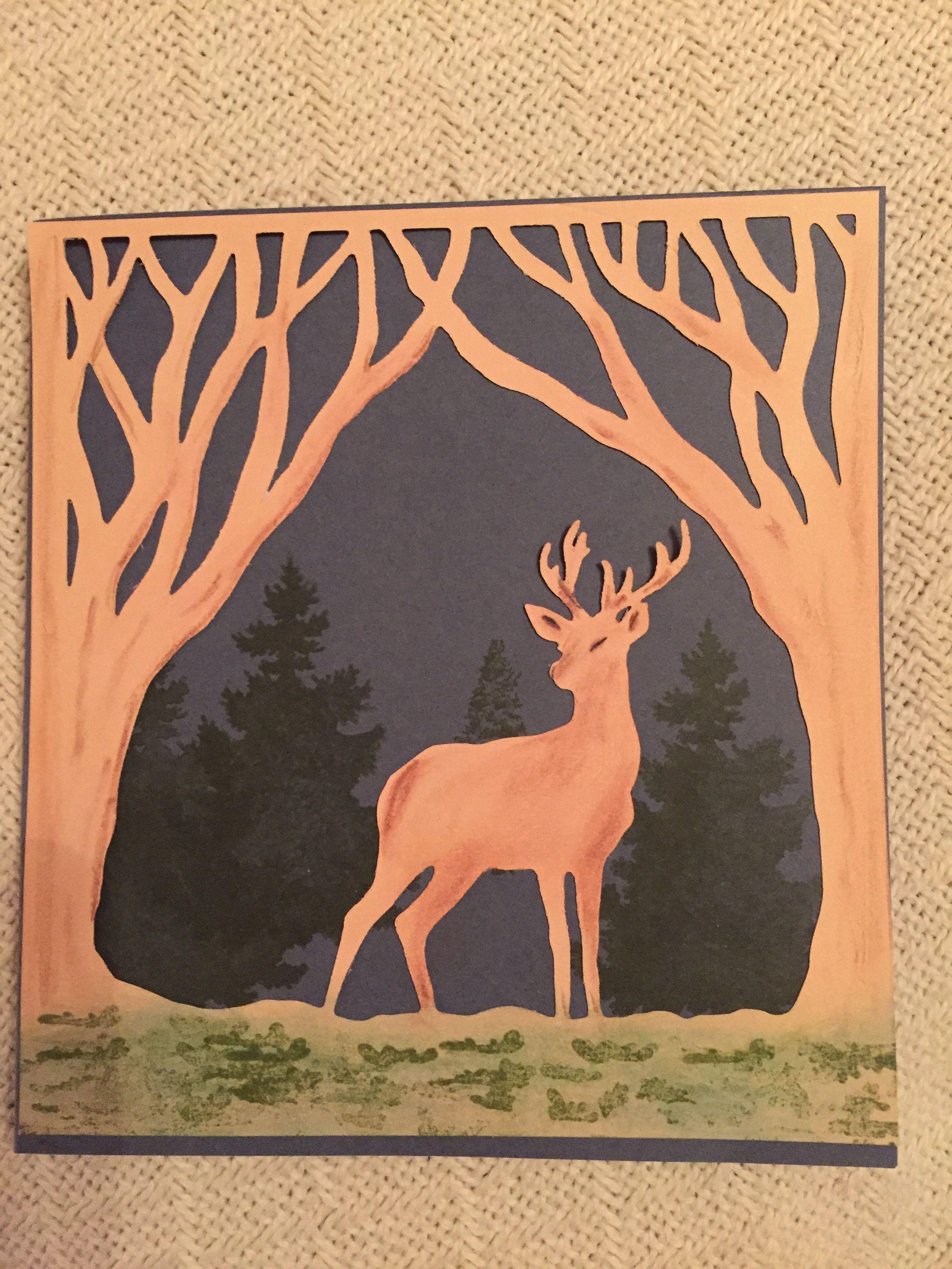 Pin by Debbie Jasany on Cards I like Deer, Art, Moose art