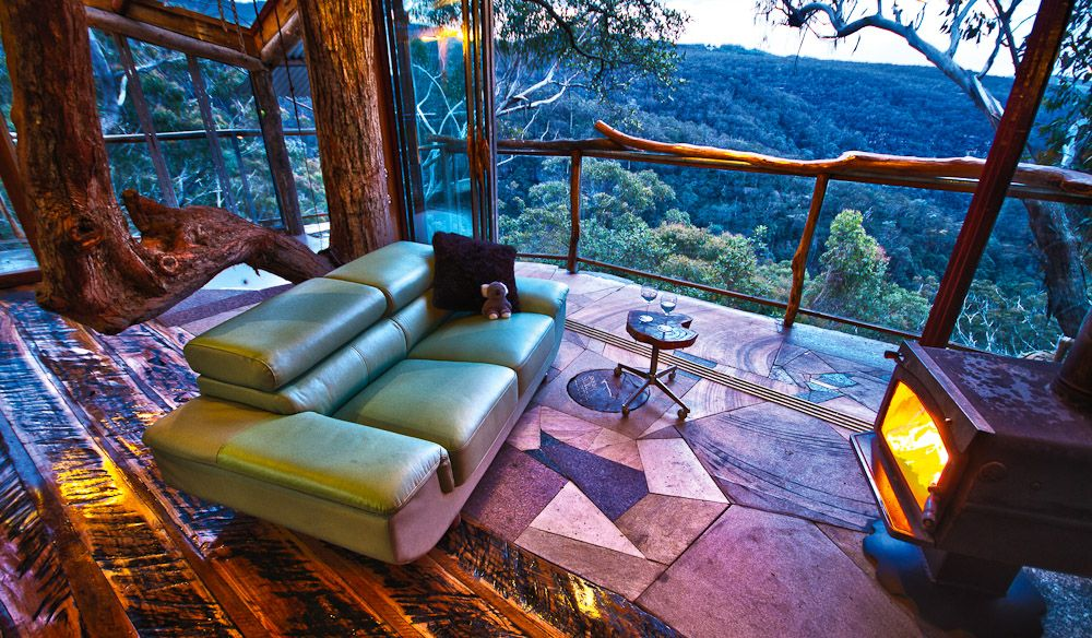 #Wollemi_Wilderness_Treehouse #Blue_Mountains #Australia http://directrooms.com/australia/hotels/blue-mountains-hotels/price1.htm