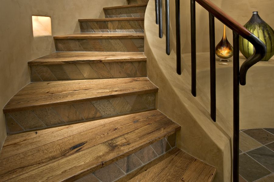 Best How To Apply Vinyl Plank Stair Treads Flooring For Stairs Tile Stairs Wood Stairs 400 x 300