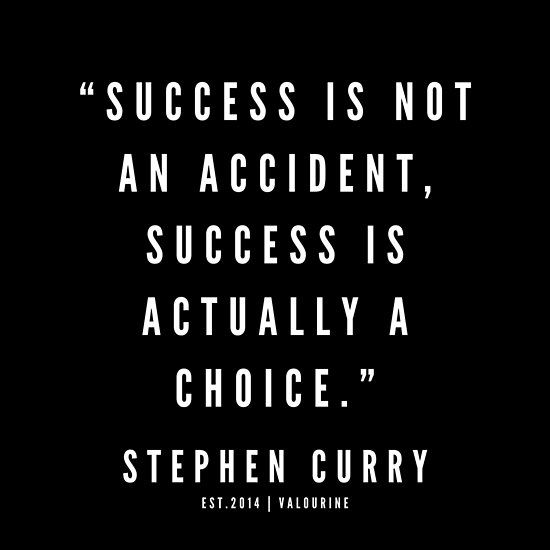 '15 |  Stephen Curry Quotes | 190527 | Black' Poster by QuotesGalore