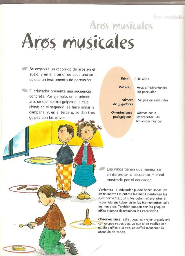Juegos De Música Y Expresión Corporal Juegos De Música Juegos De Educación Musical Juegos De Expresion Corporal