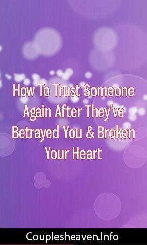 How be relationship after divorce broke your heart