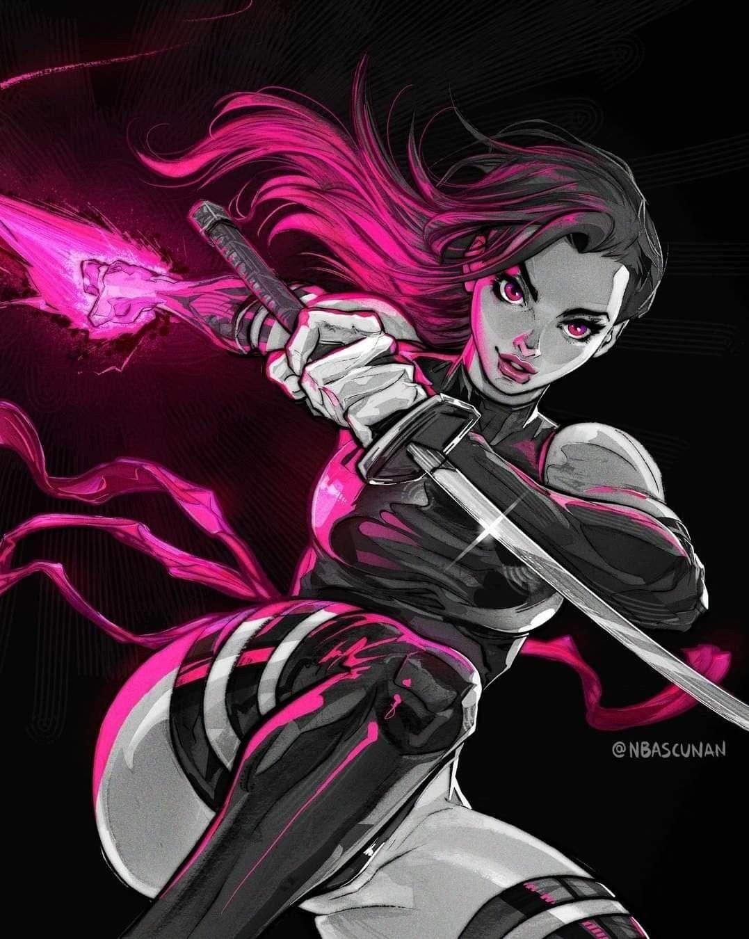 Psylocke image by Mrs Spiderman on Psylocke   Comics