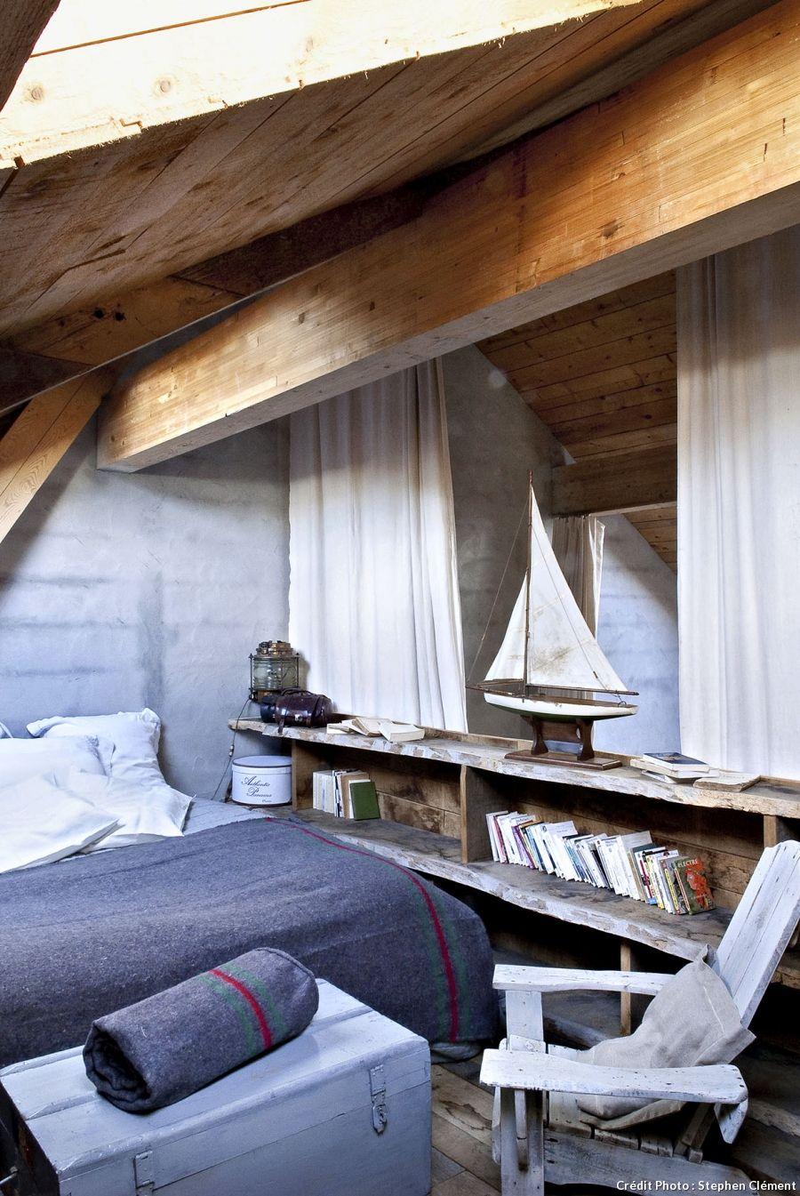 A Belle Ile En Mer Une Maison D Hotes Entre Loft Et Librairie