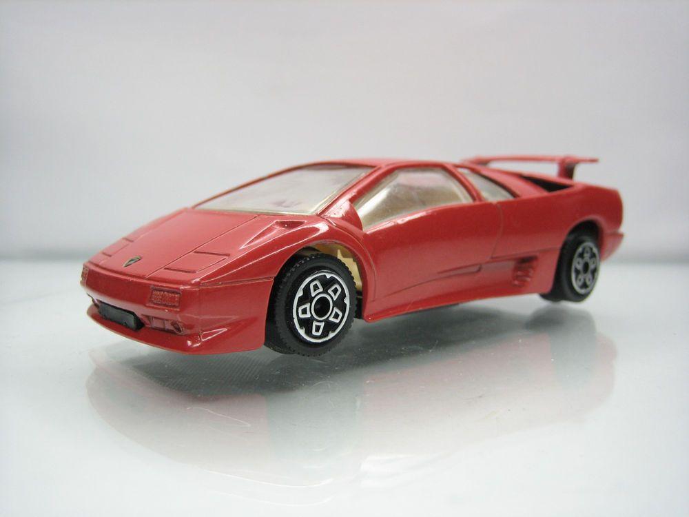 Diecast Bburago Lamborghini Diablo 1 43 Red Good Condition Ebay
