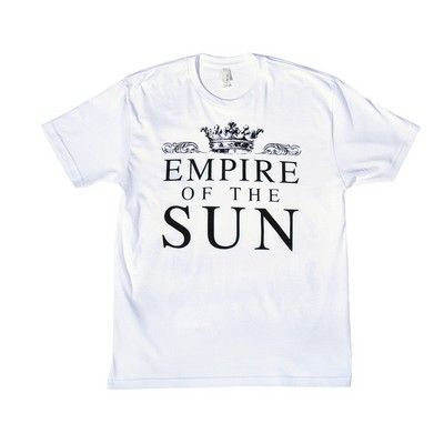 White Empire Slim Tee -Empire of the Sun