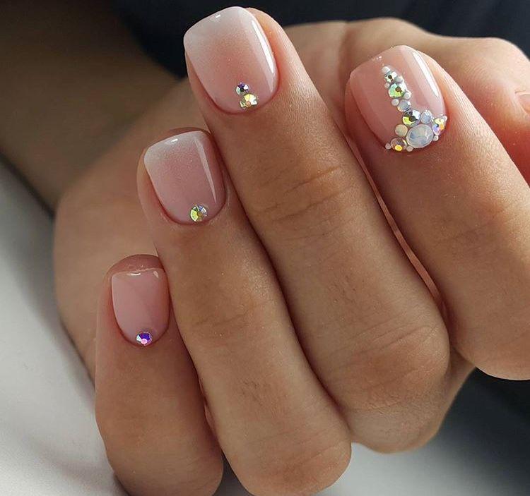 Para aquellas que tenemos las uñas cortas | Uñas | Pinterest | Uñas ...