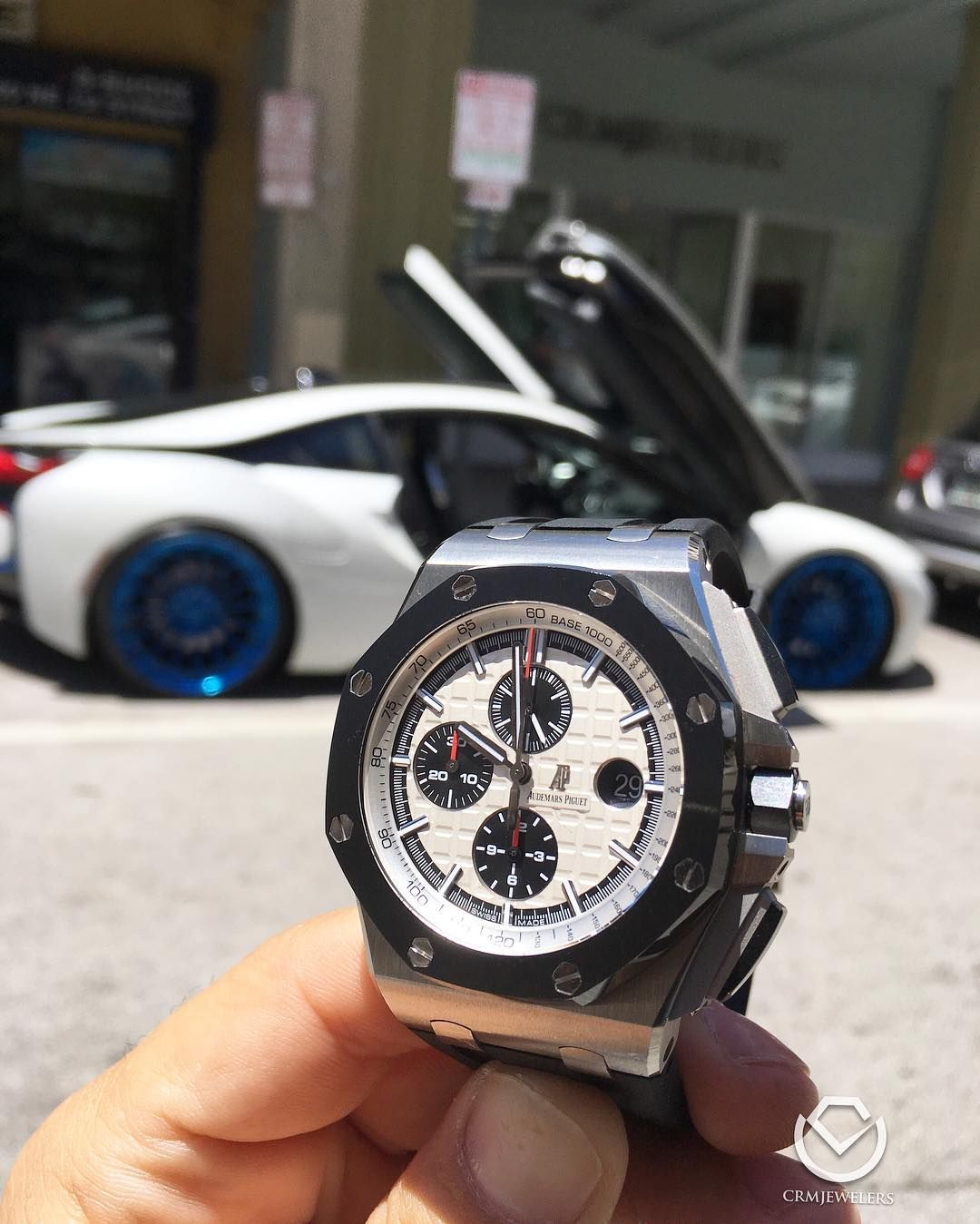 Fly Pelican fly Audemars Piguet ROO in 44mm$20500 only one in stock #bmwi8