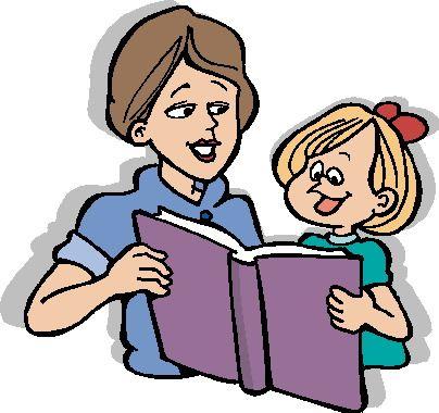 Znalezione obrazy dla zapytania: reading clipart