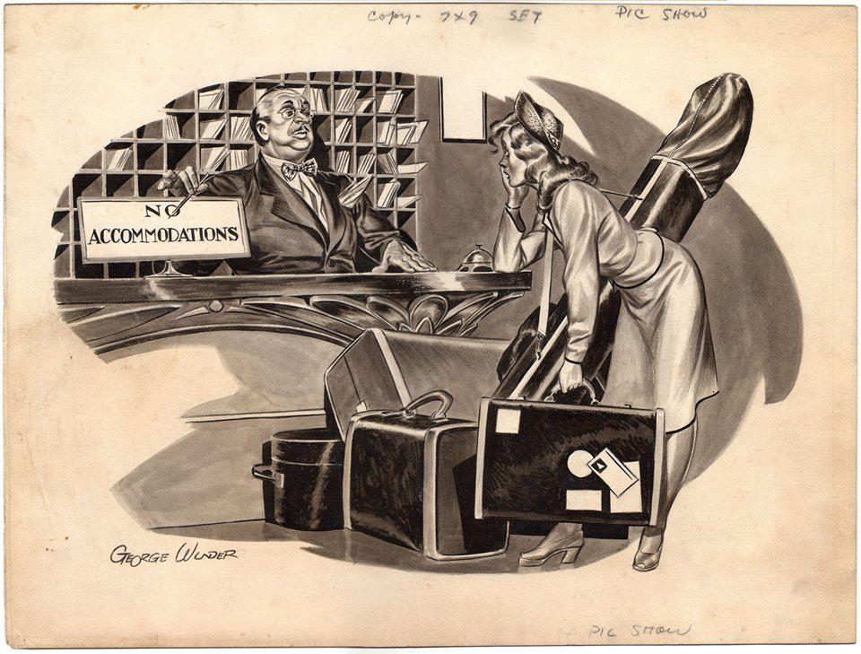 Awesome George Wunder illustration