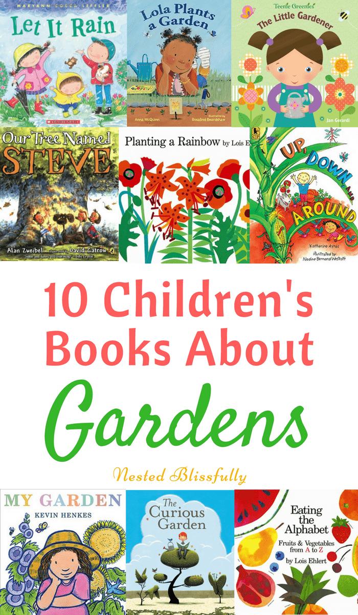 10 Best Gardening Books For Kids Gardening Books Preschool