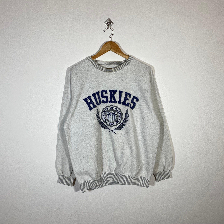 Vintage 90s University Of Washington Huskies Sweatshirt Etsy Vintage Nike Sweatshirt Sweatshirts Polo Ralph Lauren Sweatshirt [ 3000 x 3000 Pixel ]