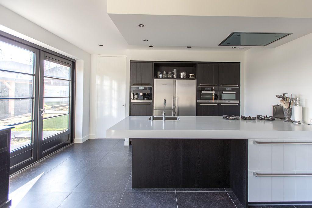 Belgisch Hardsteen Look Keramiek #kitchen #keuken #woonkamer ...