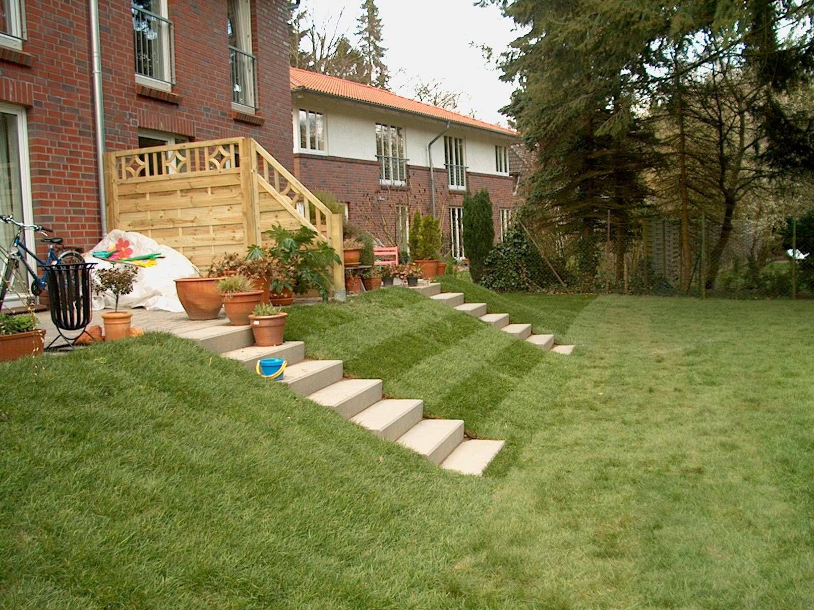 terrasse mit stufen righini garten und landschaftsbau garten pinterest landschaftsbau. Black Bedroom Furniture Sets. Home Design Ideas