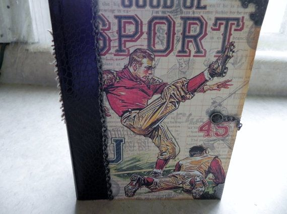 Hey, I found this really awesome Etsy listing at https://www.etsy.com/listing/239621977/sports-mini-album