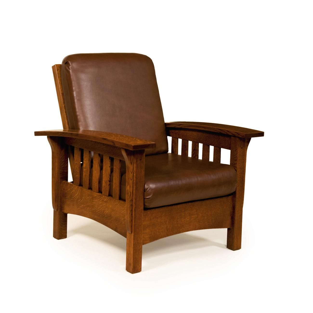 Arts and crafts furniture chair - Morris Chair 1866 Wood The Real Stuff Quarter Sawn Oak