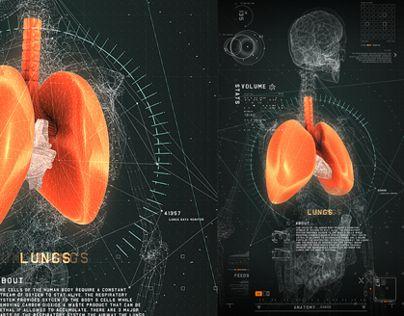 #2RISE FUTURISTIC MEDICAL INTERFACE