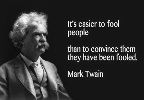 It's Easier to Fool People… | Mark twain quotes, Mark twain, Great quotes
