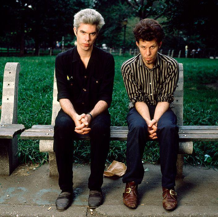 Jim Jarmusch & Tom Waits,New York, 1985, by Deborah Feingold